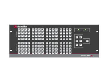 3264V5SXL Pro 64 XL 32x64 RGBHV w/Stereo Audio (25RU/LCP/Rednt Pwr/IP) Matrix Switch by Sierra Video