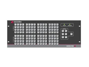 4832V3SXL Pro 64 XL 48x32 RGB   Stereo Audio (17RU/LCP/Rednt Pwr/IP) Matrix Switch by Sierra Video