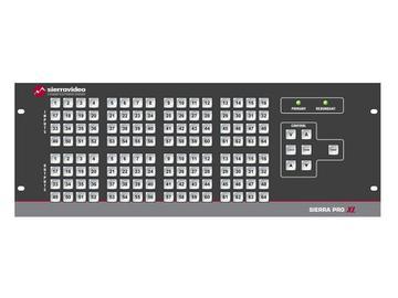 4848V3SXL Pro 64 XL 48x48 RGB   Stereo Audio (17RU/LCP/Rednt Pwr/IP) Matrix Switch by Sierra Video