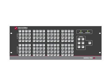 4848V5SXL Pro 64 XL 48x48 RGBHV w/Stereo Audio (25RU/LCP/Rednt Pwr/IP) Matrix Switch by Sierra Video