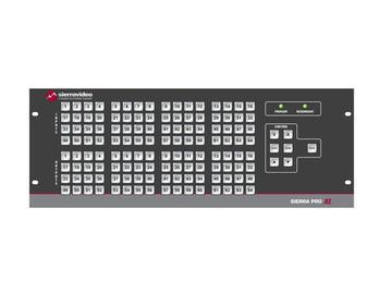 4848V5XL Pro 64 XL 48x48 RGBHV (20RU/LCPRednt Pwr/IP) Matrix Switch by Sierra Video