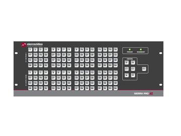 6448V3SXL Pro 64 XL 64x48 RGB   Stereo Audio (17RU/LCP/Rednt Pwr/IP) Matrix Switch by Sierra Video