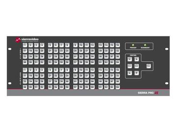 6448V3XL Pro 64 XL 64x48 RGB (12RU/LCP/Rednt Pwr/IP) Matrix Switch by Sierra Video