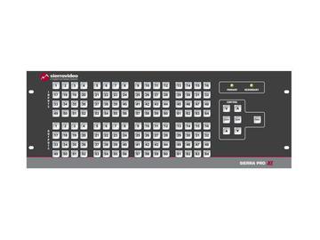 6448V5XL Pro 64 XL 64x48 RGBHV (20RU/LCPRednt Pwr/IP) Matrix Switch by Sierra Video