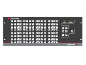 6464V5SXL Pro 64 XL 64x64 RGBHV w/Stereo Audio (25RU/LCP/Rednt Pwr/IP) Matrix Switch by Sierra Video