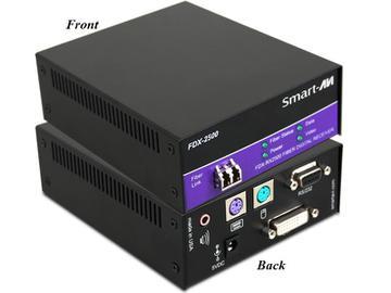 FDX-RX2500S DVI-D/Stereo Audio/PS2/RS232/Singlemode Fiber Extender (Receiver) by Smartavi