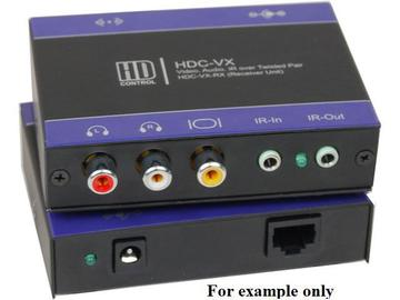 HDC-VX-TXS VGA Extender (Transmitter) over CAT5 up to1000ft Supports PAL/NTSC/SECAM by Smartavi