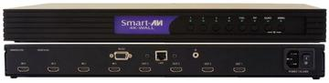 SM-4KWL-S 4X4 DVI-D/HDMI/RS-232/IR/CAT5/6 STP Video Wall Processor by Smartavi