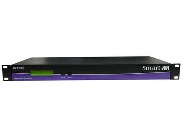DV-SW16S 16x1 DVI Switcher with RS-232 Supports Mac/PC/Linux/Sun DVI-D 20ft by Smartavi