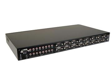 HDC-MXS 8x8 VGA/Component Video   Audio/IR/RS-232 CAT5 Matrix Switcher by Smartavi