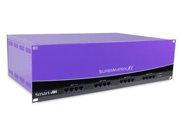 SMX-AV6416S 64x16 VGA/Component  Audio Over Cat5 Matrix Switcher with Full RS-232 by Smartavi