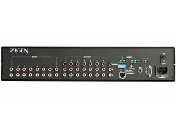 AX-88 8X8 Audio matrix switcher by Zigen