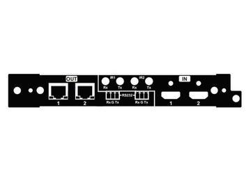 HX-70-LSC 70m/4K 2x I/O HDMI/HDBaseT left side Card for HX-88/1616-HDBT by Zigen